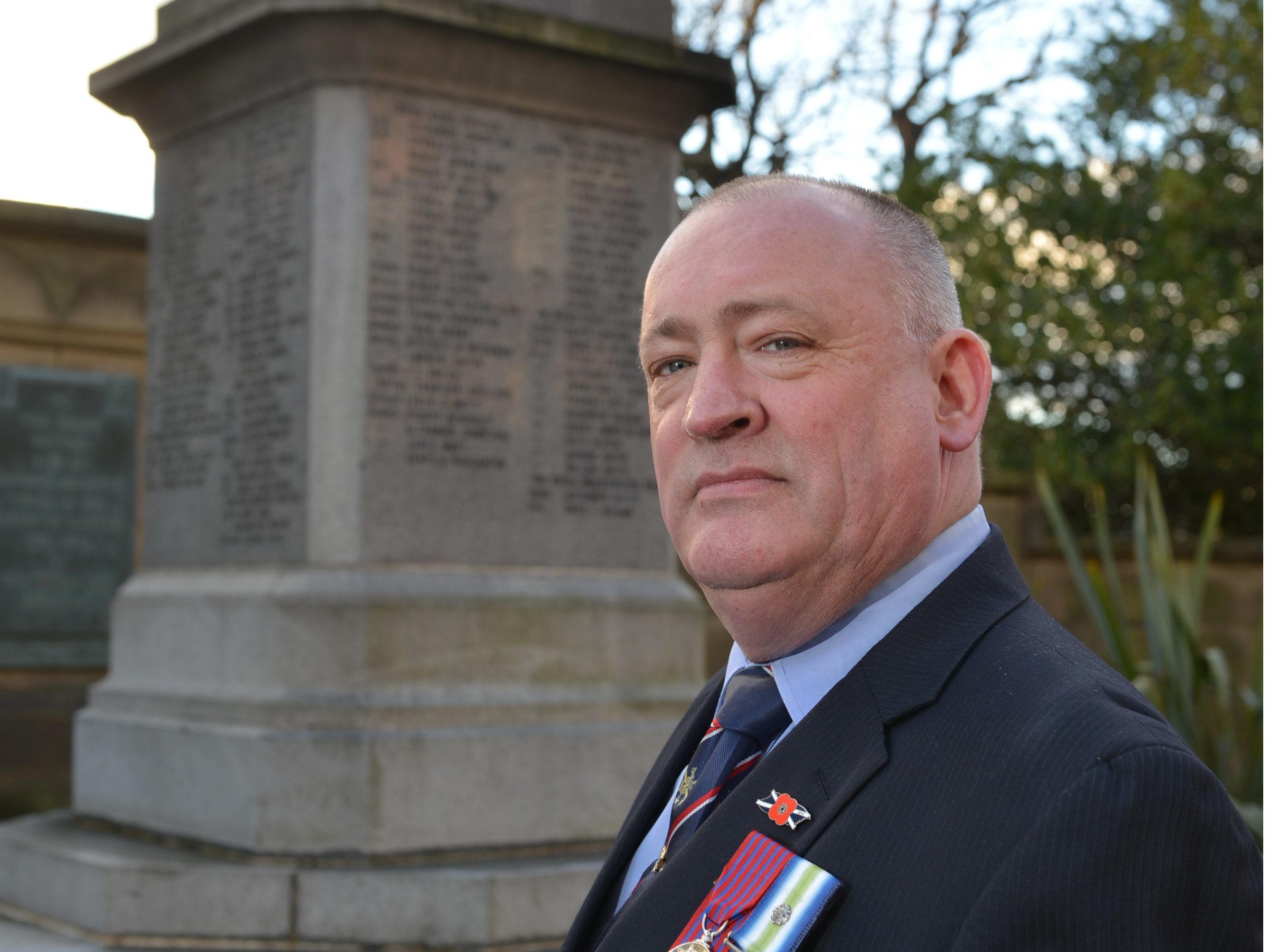 Cllr Charles Haffey, Fife's armed forces champion