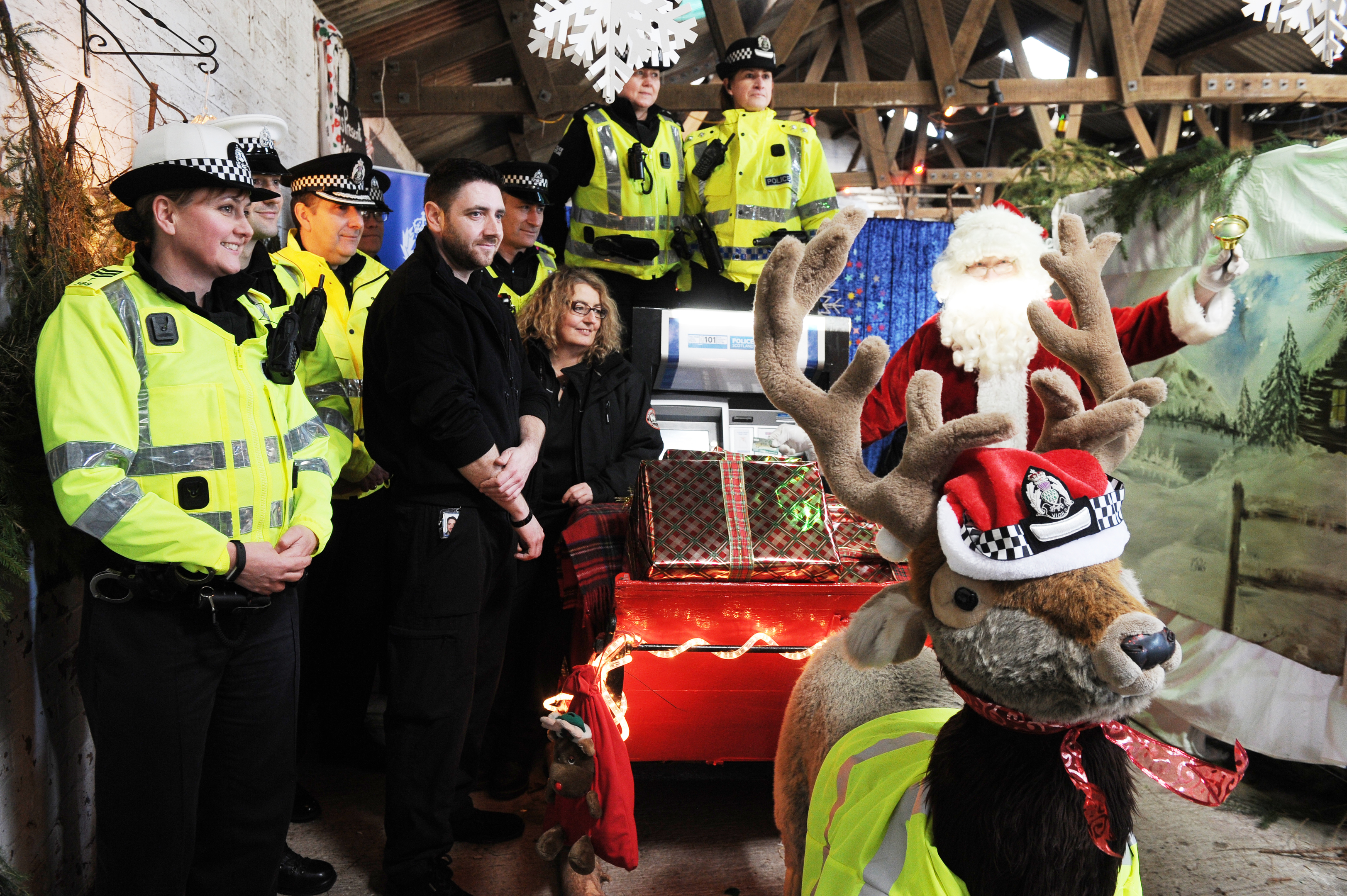 Police in Fife are warning you could pay deer-ly for indiscretions over the festive period.