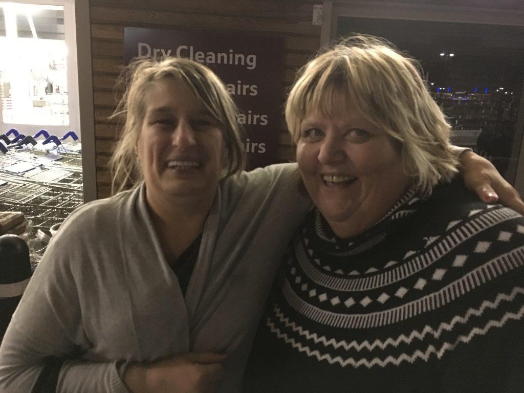 Susan McDonald and Linda Wilson.