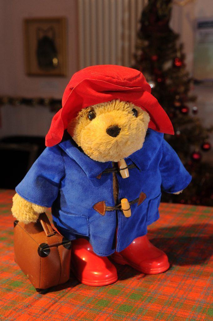 A Paddington Bear teddy.