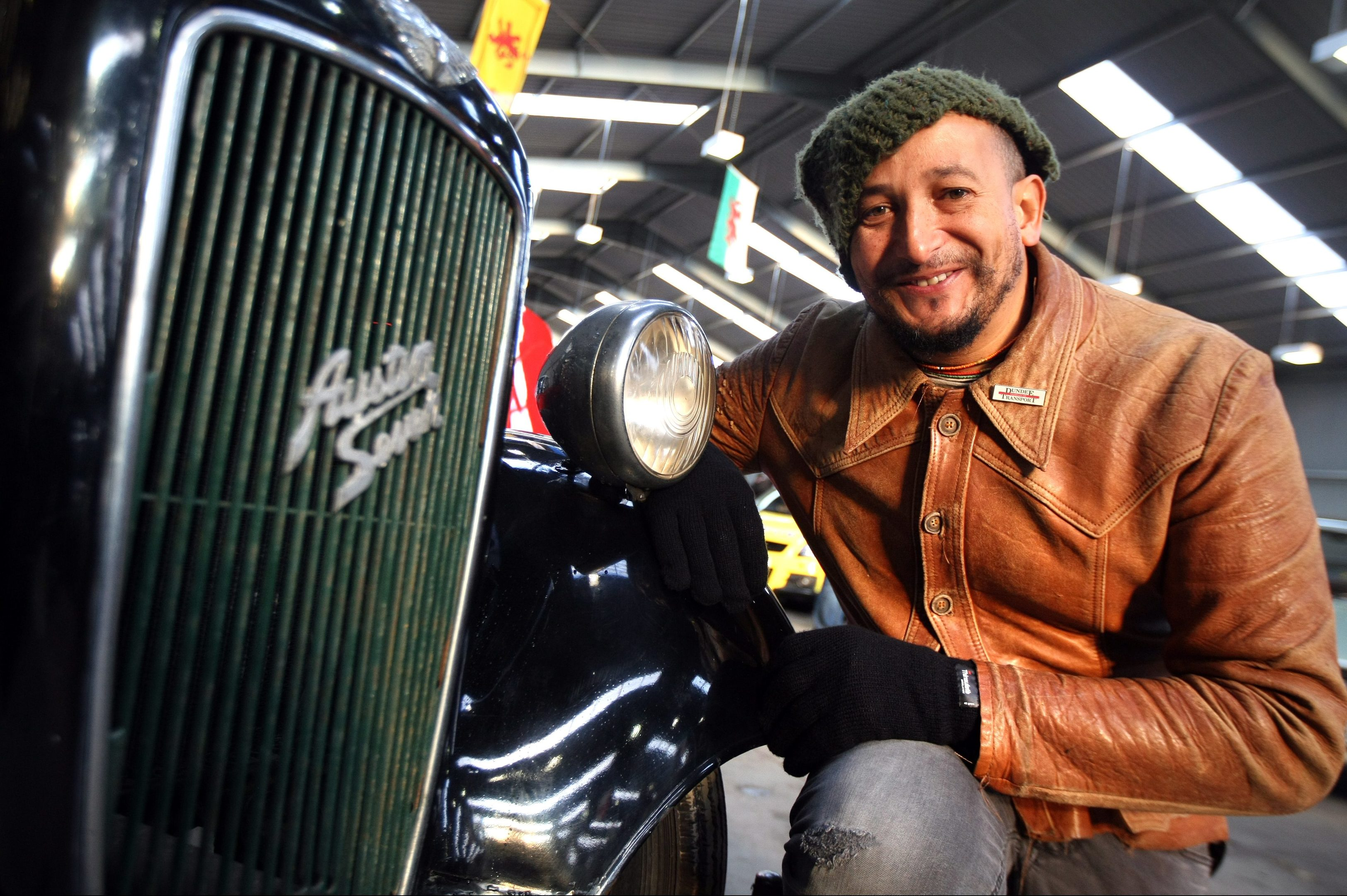 Fuzz Townshend from Car S.O.S at Errol airfeild.