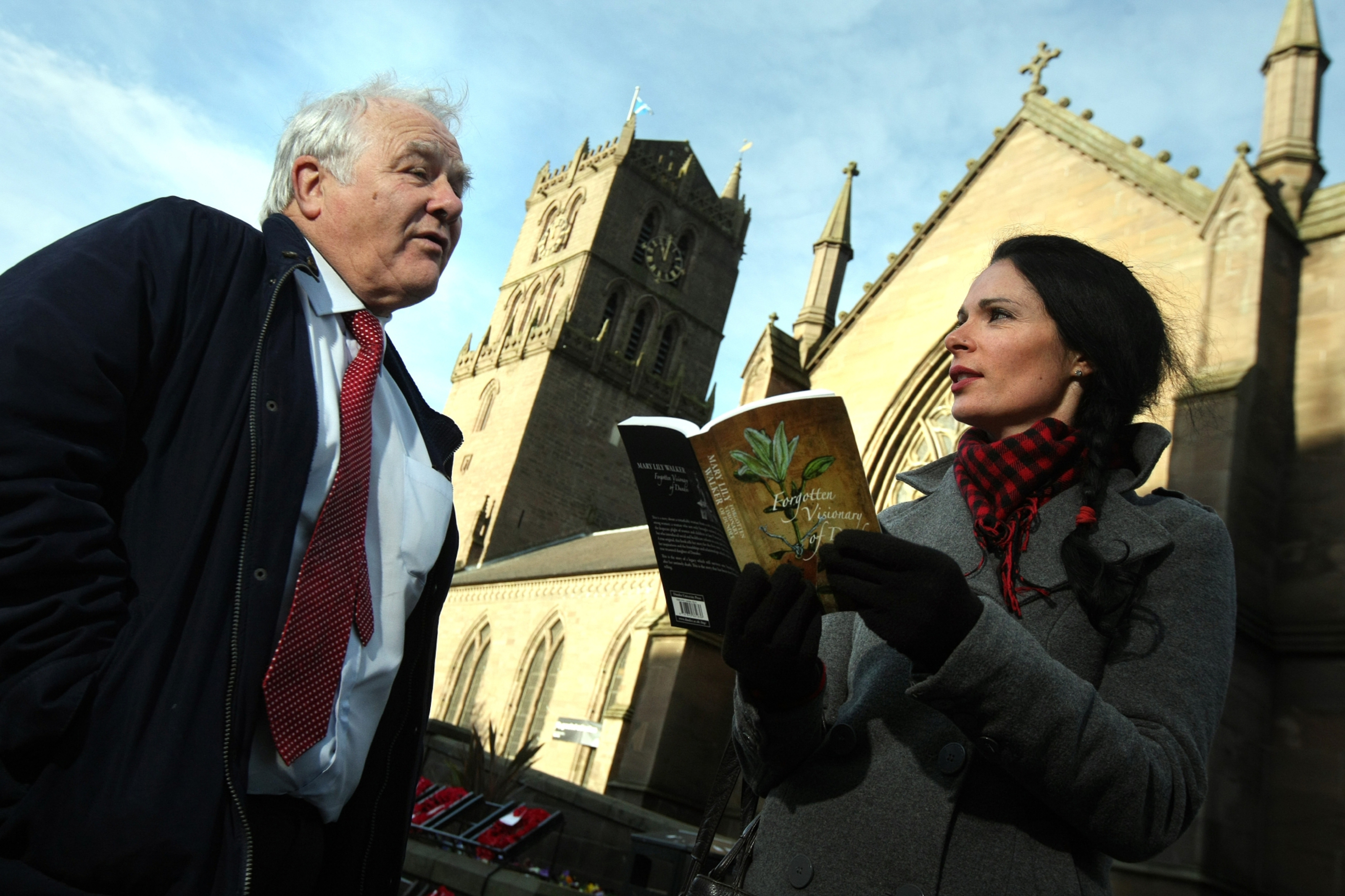 Eddie Small takes Gayle Ritchie on a reading and rambling tour of Dundee.