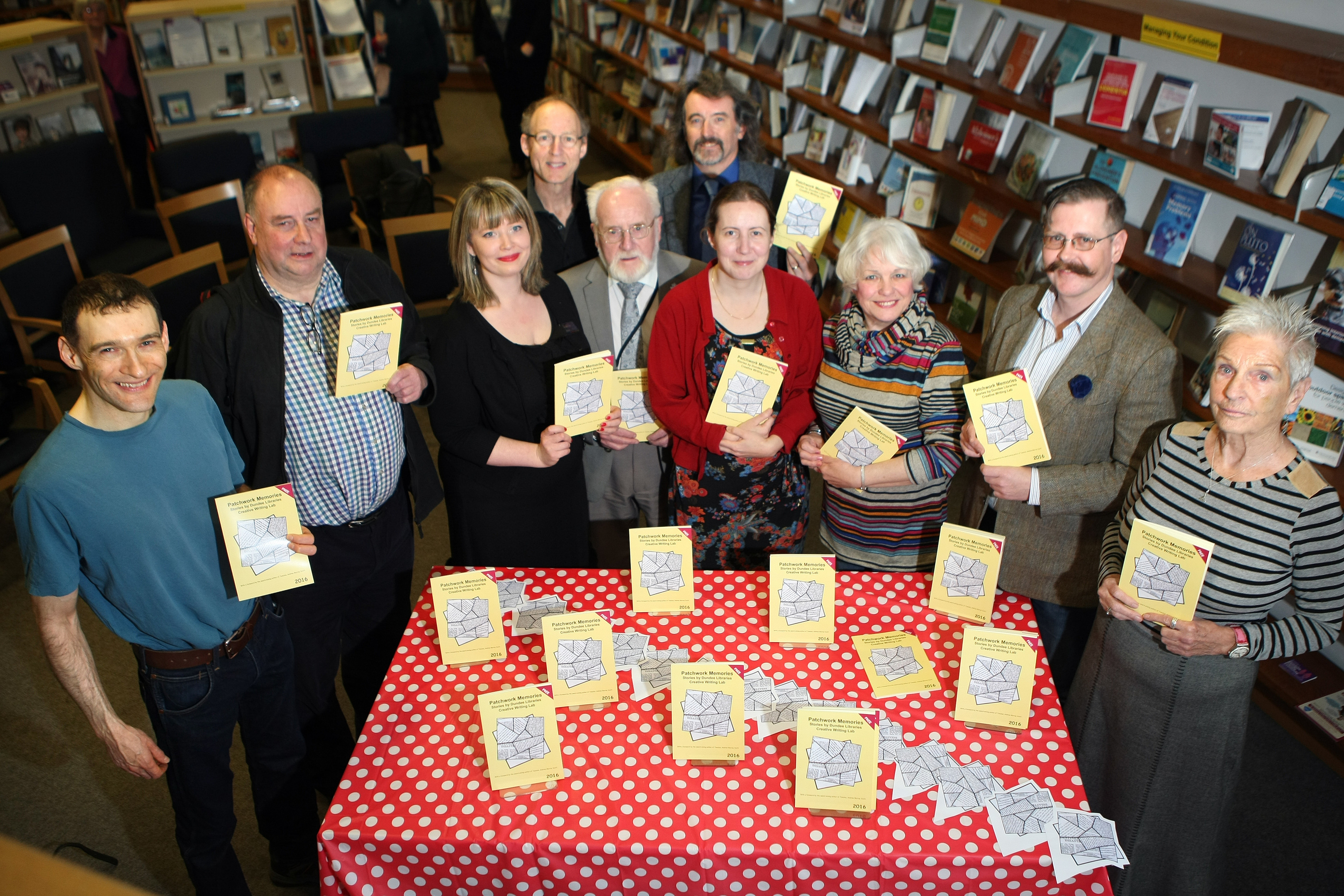 The 'memory' theme of the booklet is intended to celebrate Dundee's Dementia Library