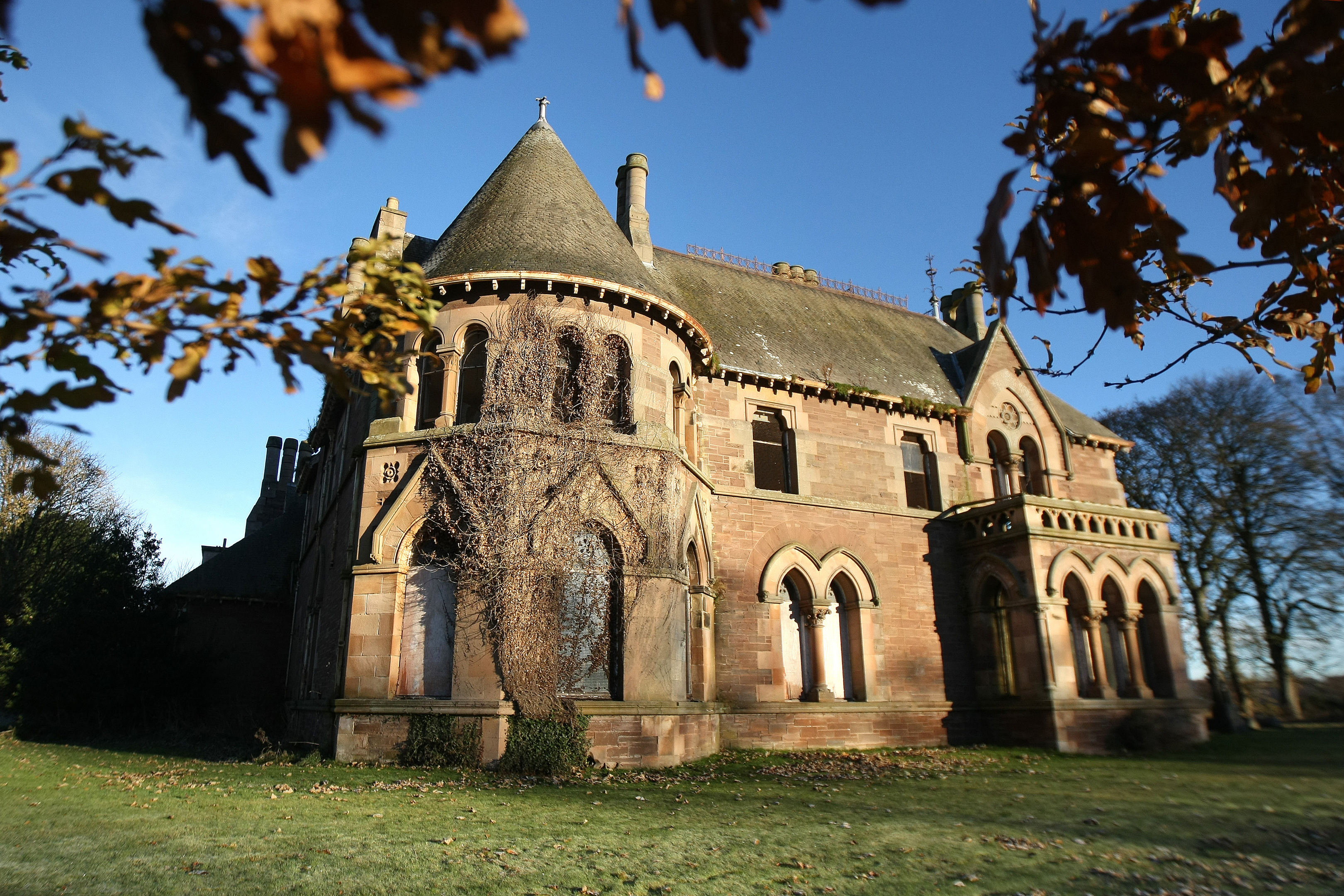 The Elms mansion house in Arbroath