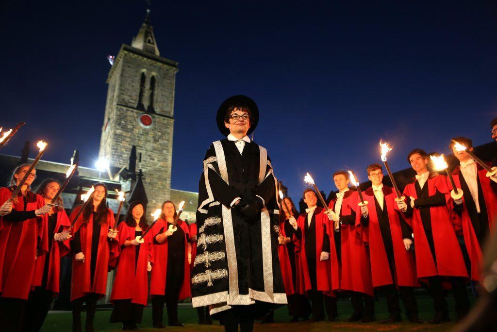 Professor Sally Mapstone, principal of St Andrews University.