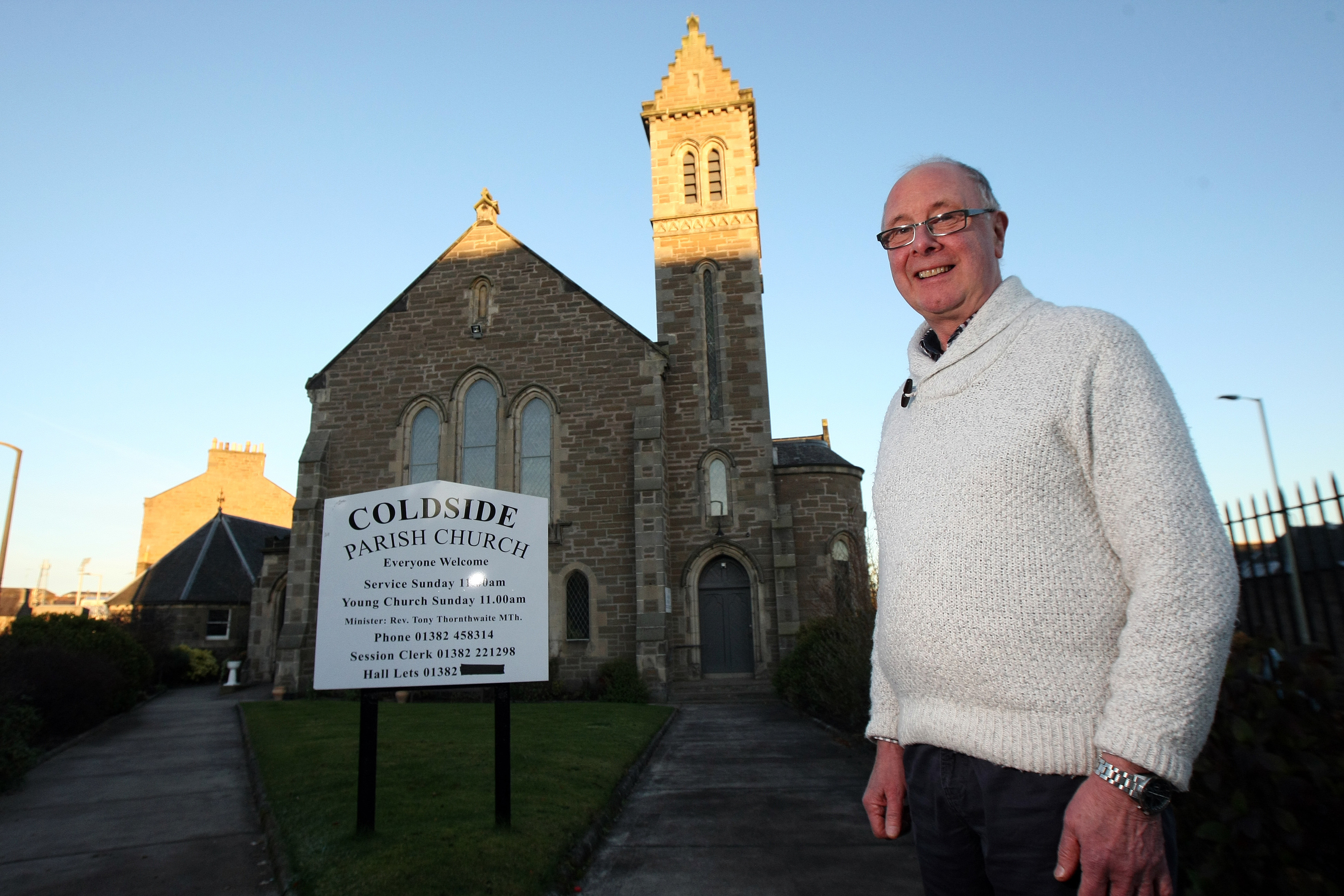 Reverend Thornthwaite believes having CCTV will keep worshippers safe.