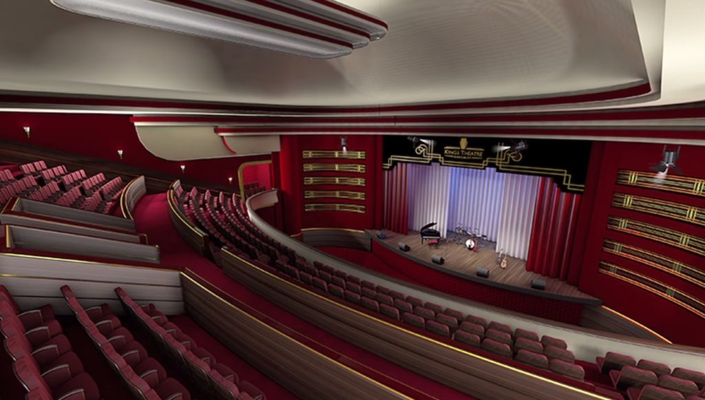 Artists impression of the Kings Theatre, Kirkcaldy.