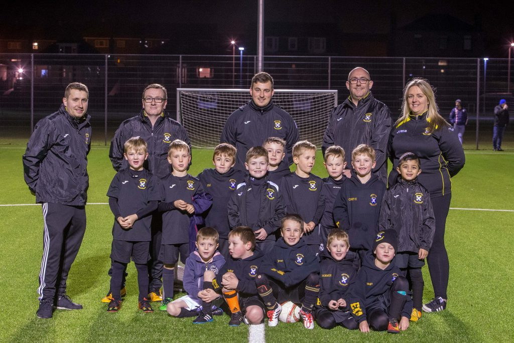 East Fife Youth Academy run by Lorna McAuley training at Windmill Campus in Kirkcaldy.