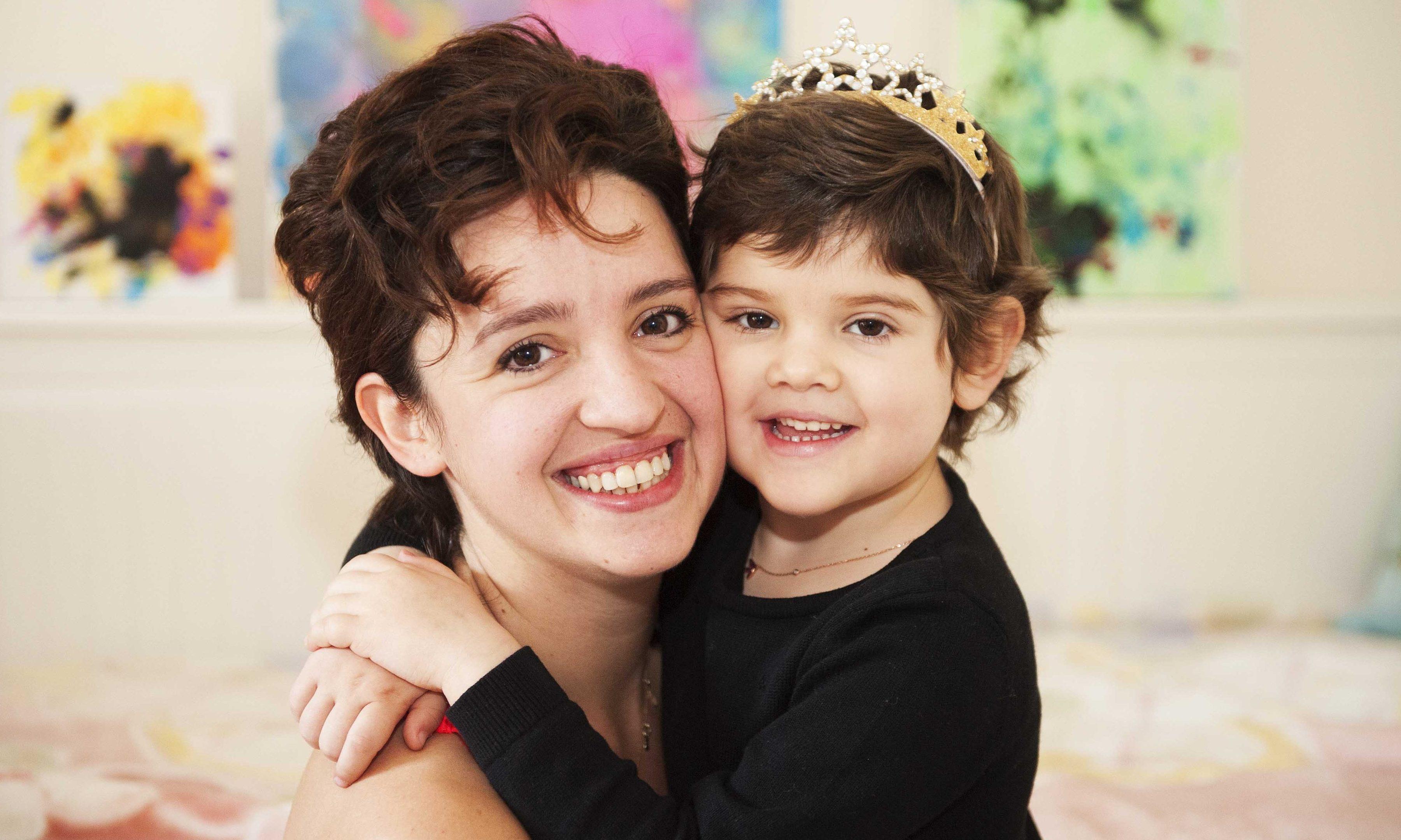 Lydia Yilmaz and her mum Selen.