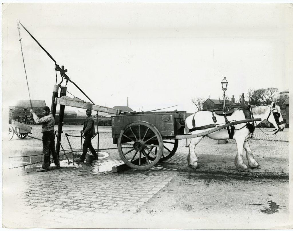 Montrose Water Carts. 11 April 1892.