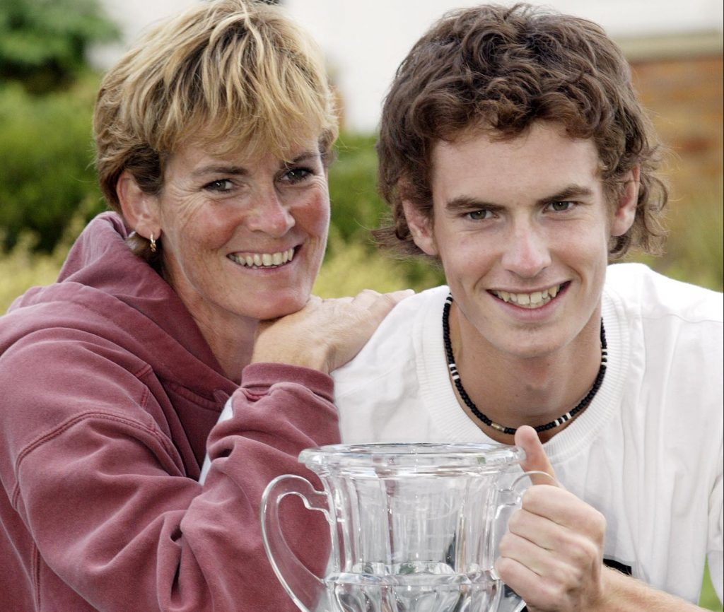 A young Andy Murray wins the junior US Open tennis championship