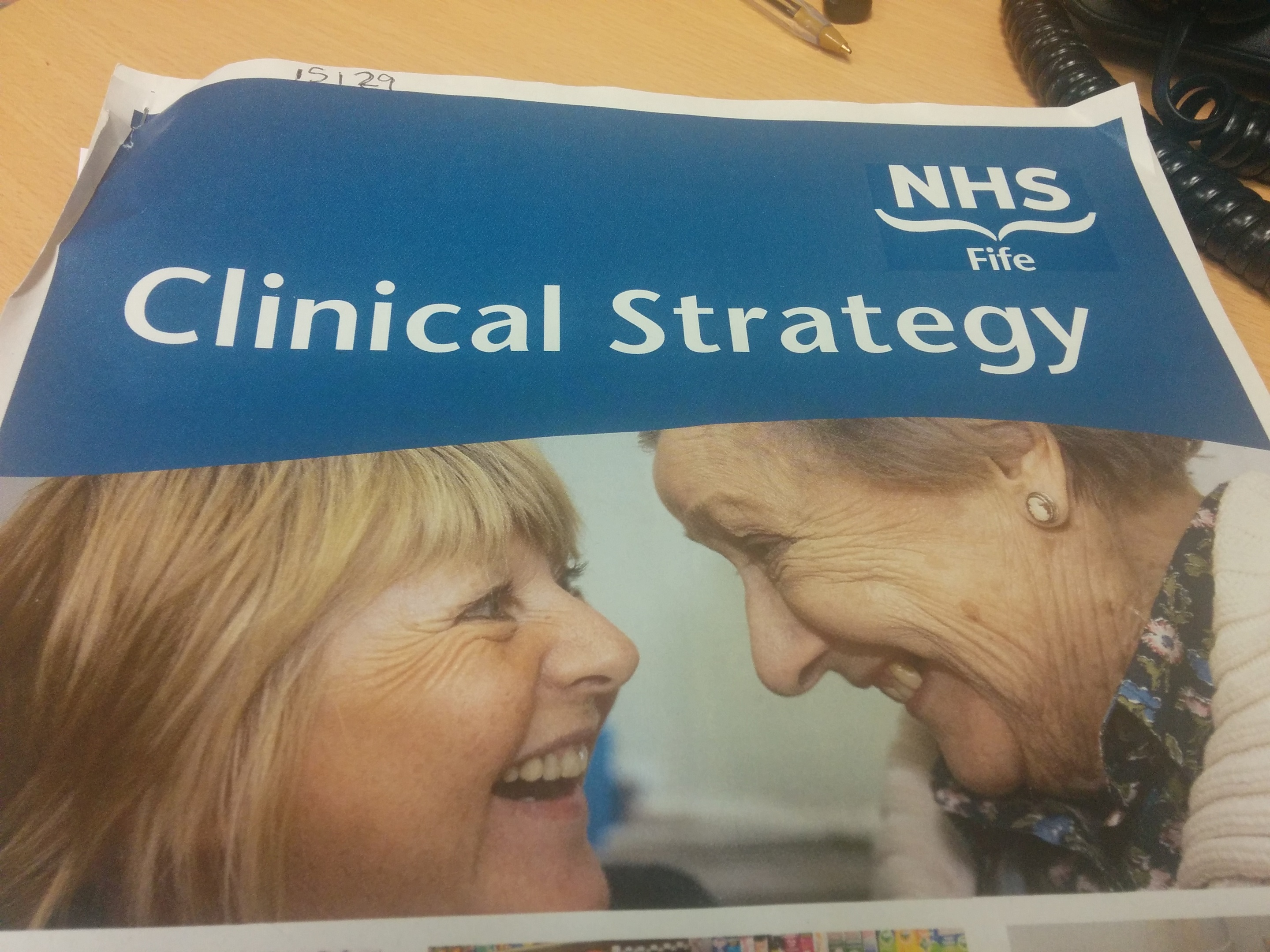 "NHS Fife's Clinical Strategy has been described as ""drivel"""