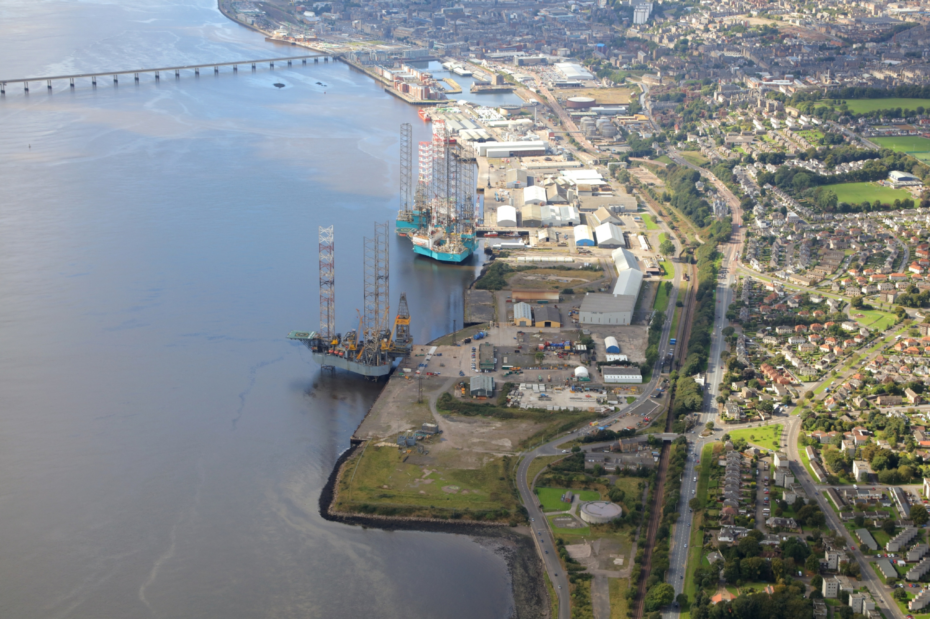 The Port of Dundee.