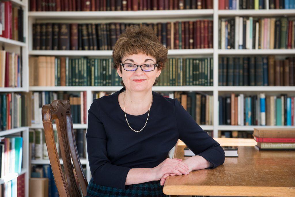 Professor Sally Mapstone, principal of St Andrews University