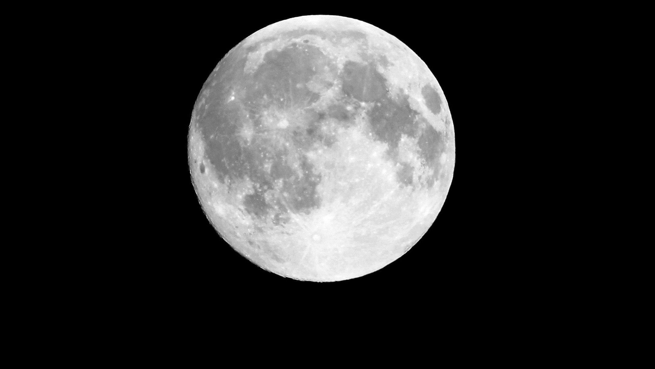 The moon will be out tonight. Again. But it will look bigger than normal.