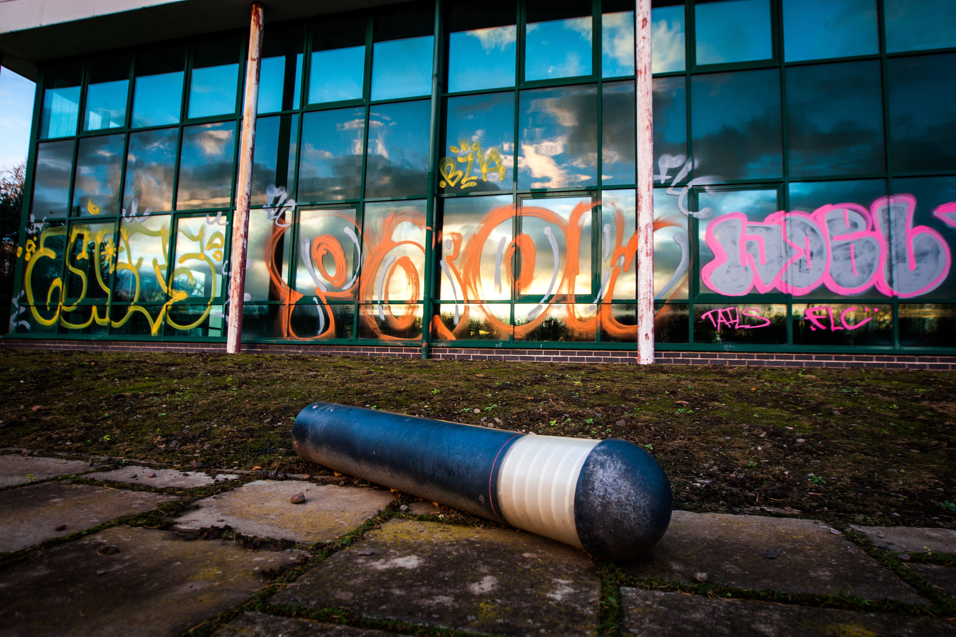 Councillor Keenan believes graffiti and weeds will put visitors off.
