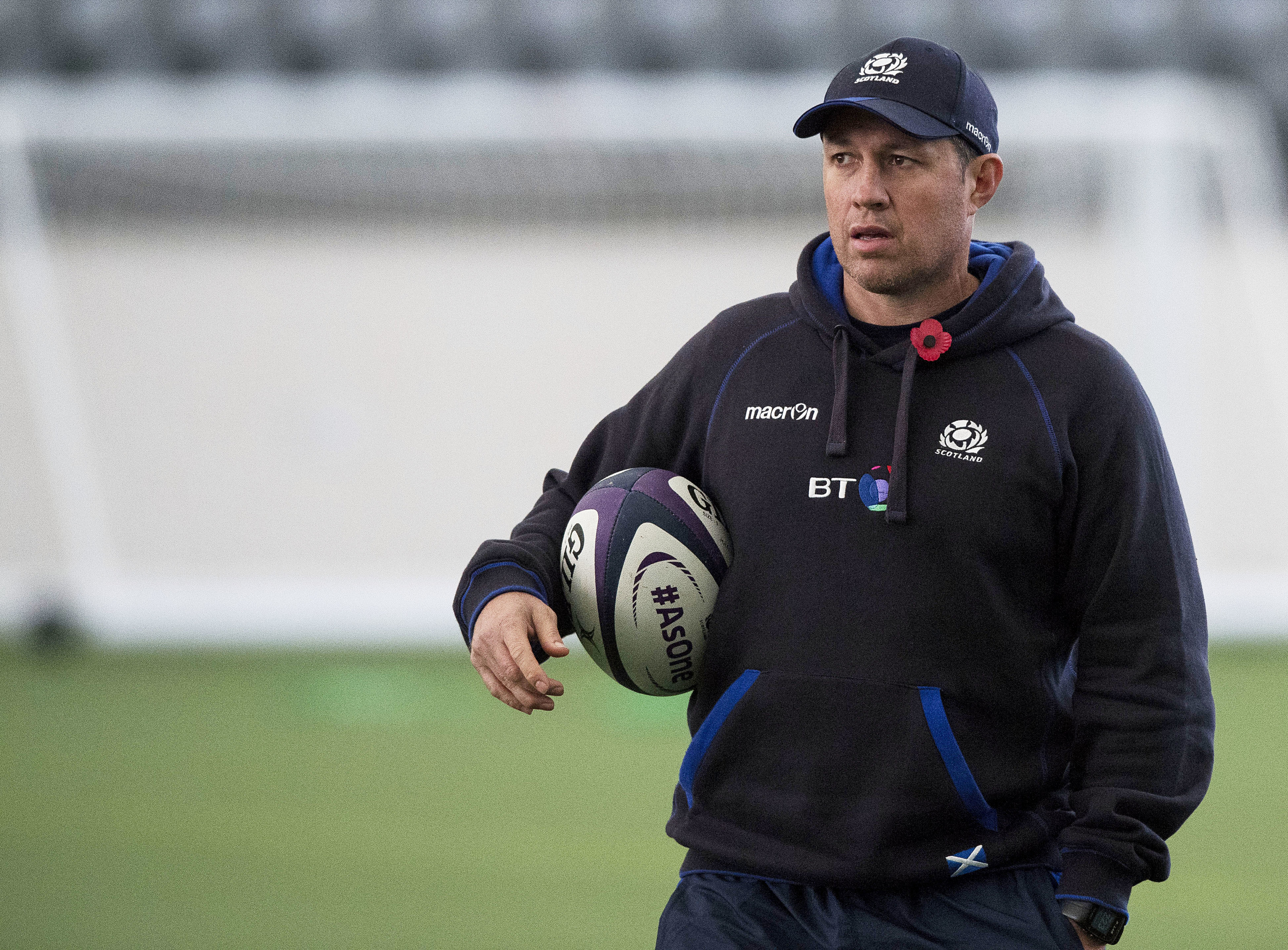 Scotland assistant coach Matt Taylor.