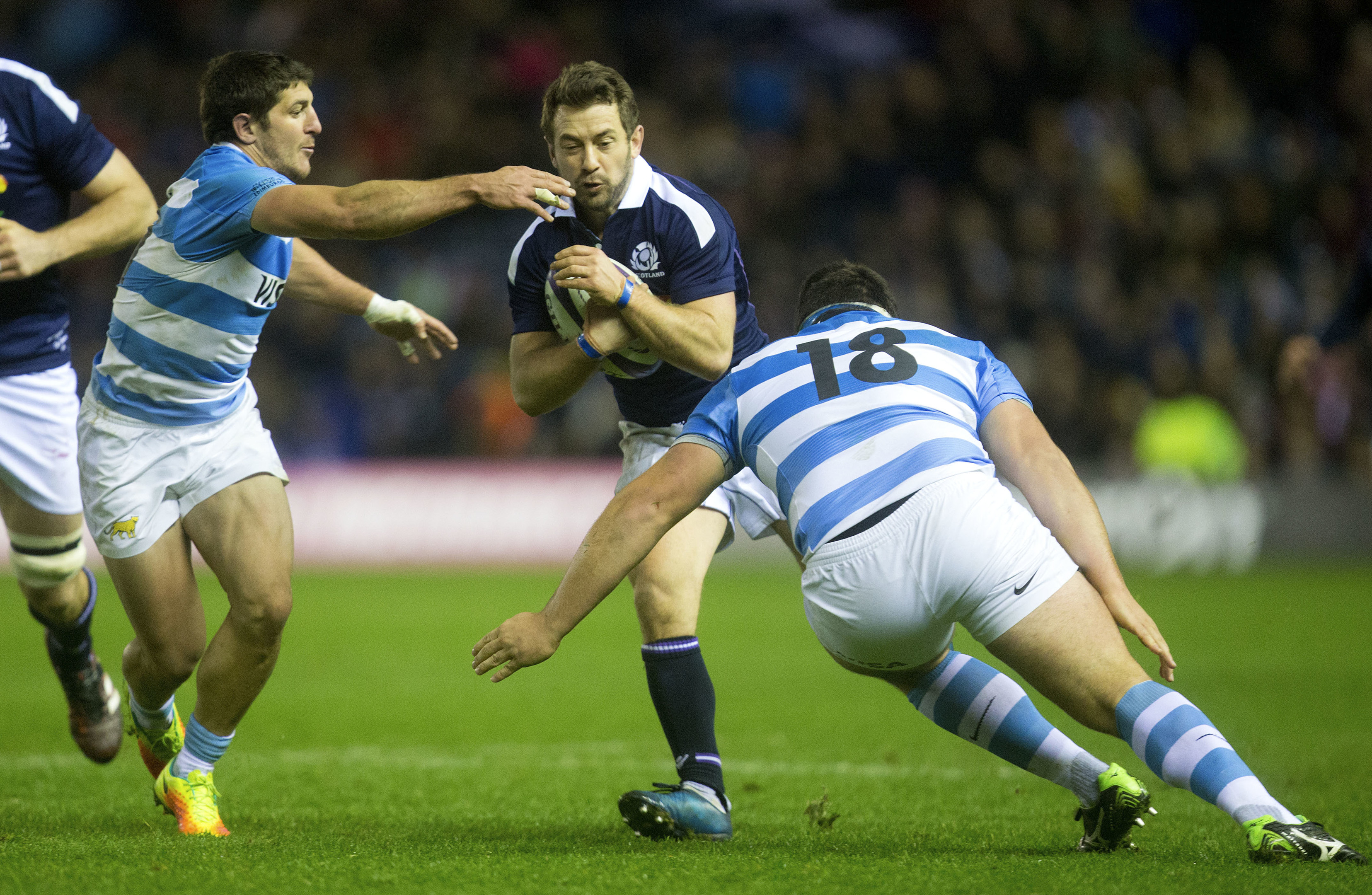 Greig Laidlaw didn't have his greatest game against Argentina, but was the hero all the same.