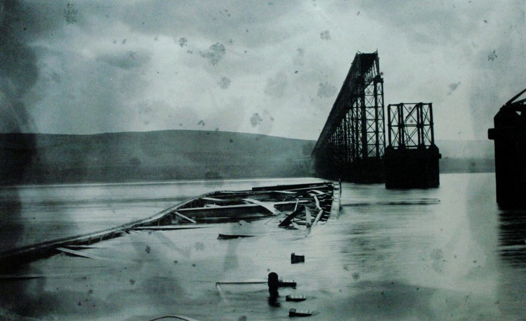 Aftermath of Tay Bridge Disaster