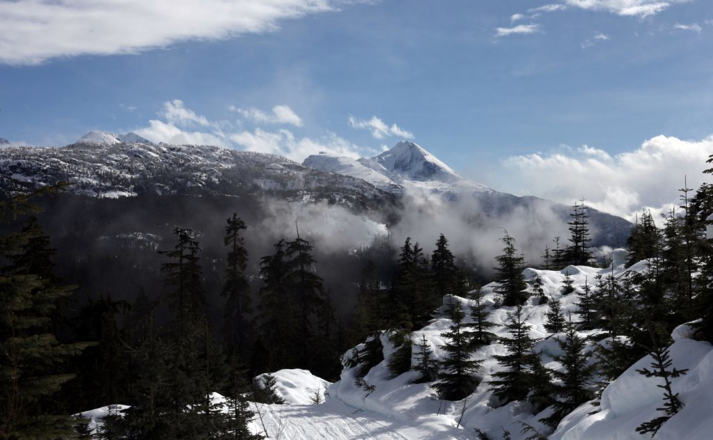 Photo of a view of Whistler.