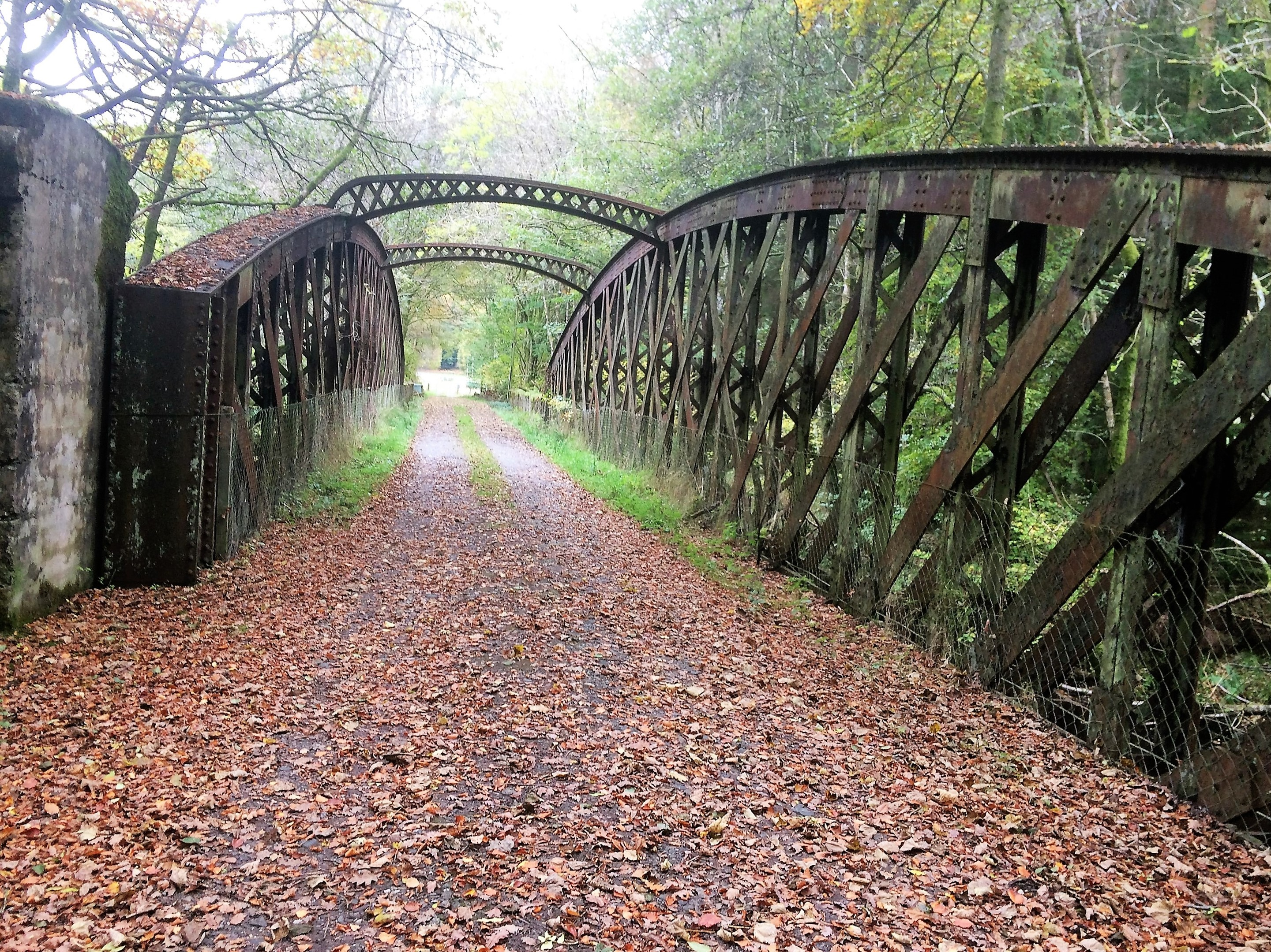 The Tynreoch Viaduct is now part of a walking route along Strathearn's old railway lines.