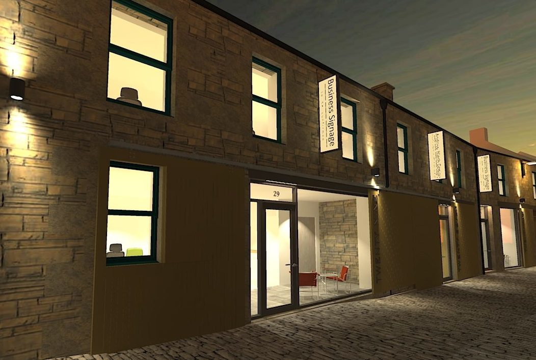How Tay Street Lane Mews will look.