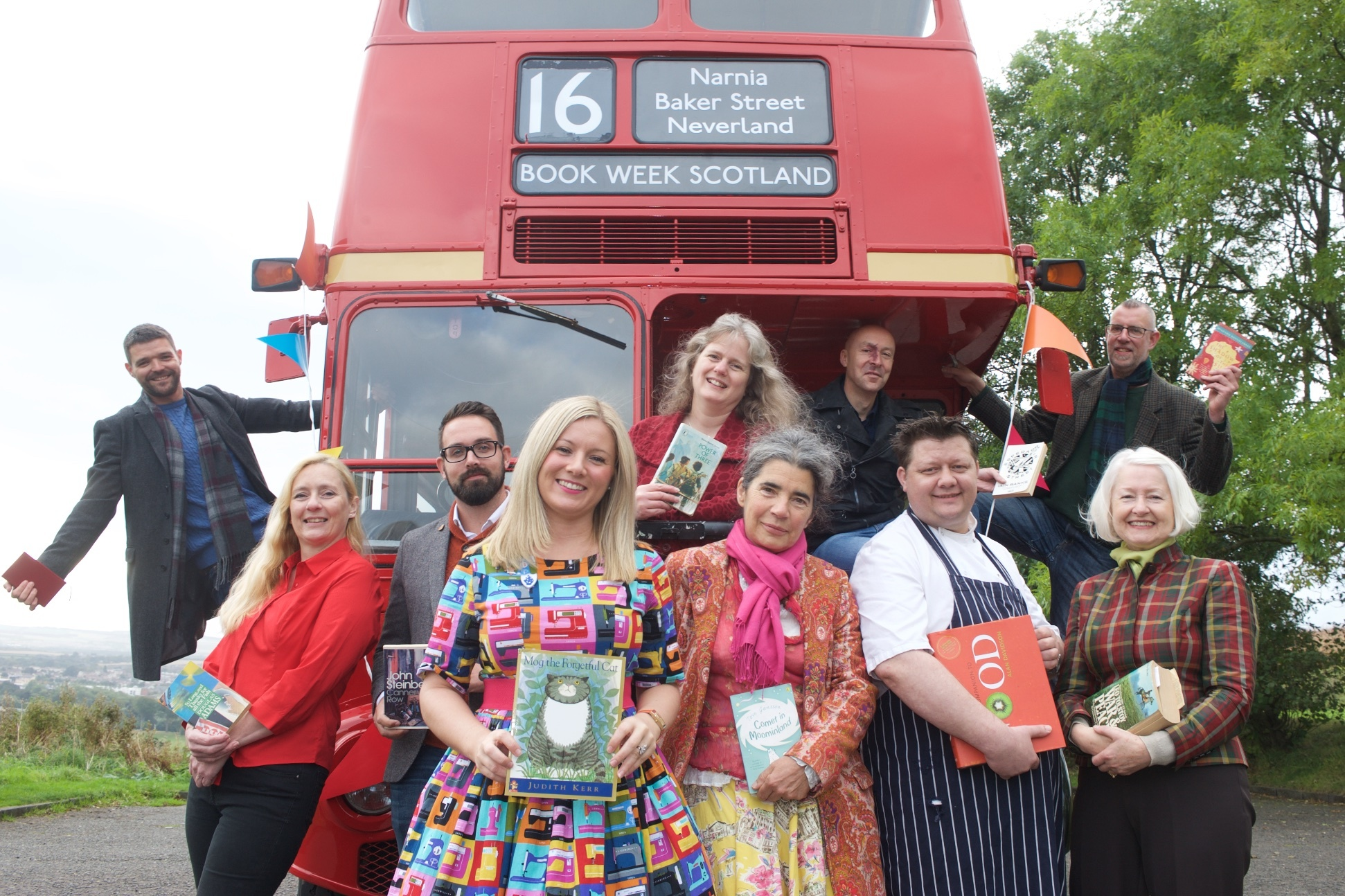 Authors urge Scots to discover where reading can take them at the Book Week Scotland 2016 programme launch.