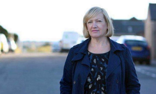 Arbroath East and Lunan councillor Brenda Durno.