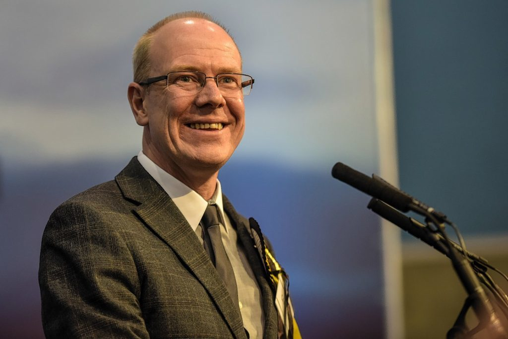 Local Government Minister Kevin Stewart