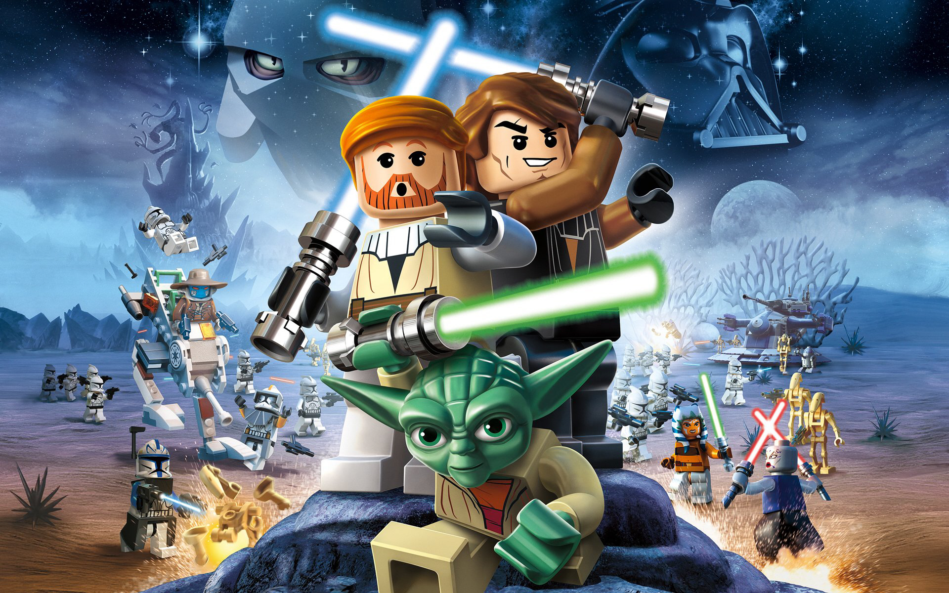 Two birds with one stone: Lego Star Wars has proven hugely popular with under 12s