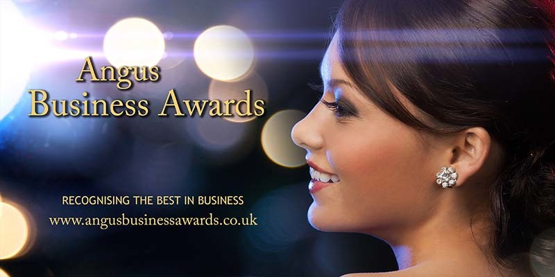 Angus Business Awards banner from website