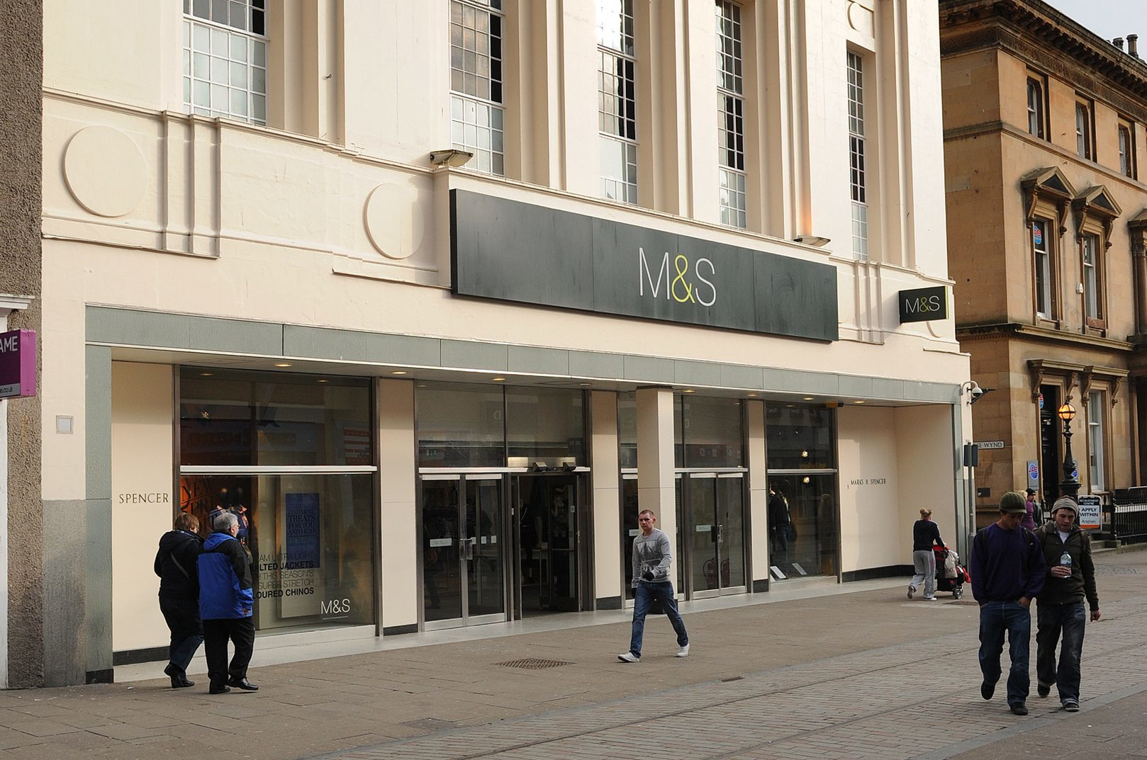 Marks and Spencer in the Murraygate, Dundee.