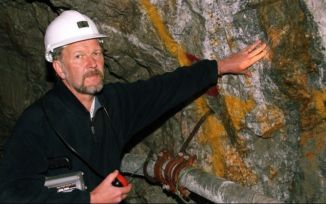 Scotgold Resources board member Chris Sangster.