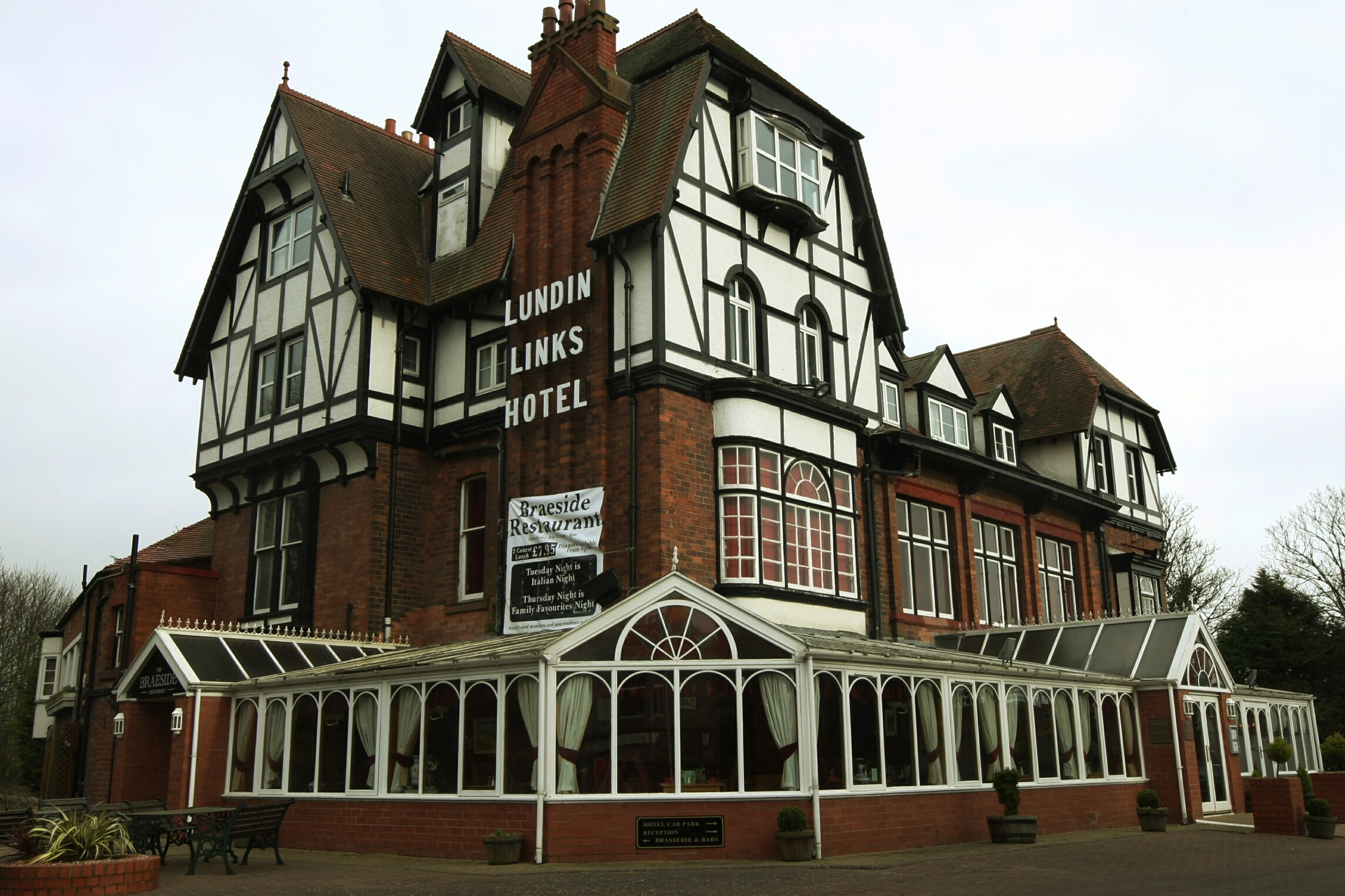 The Lundin Links Hotel.