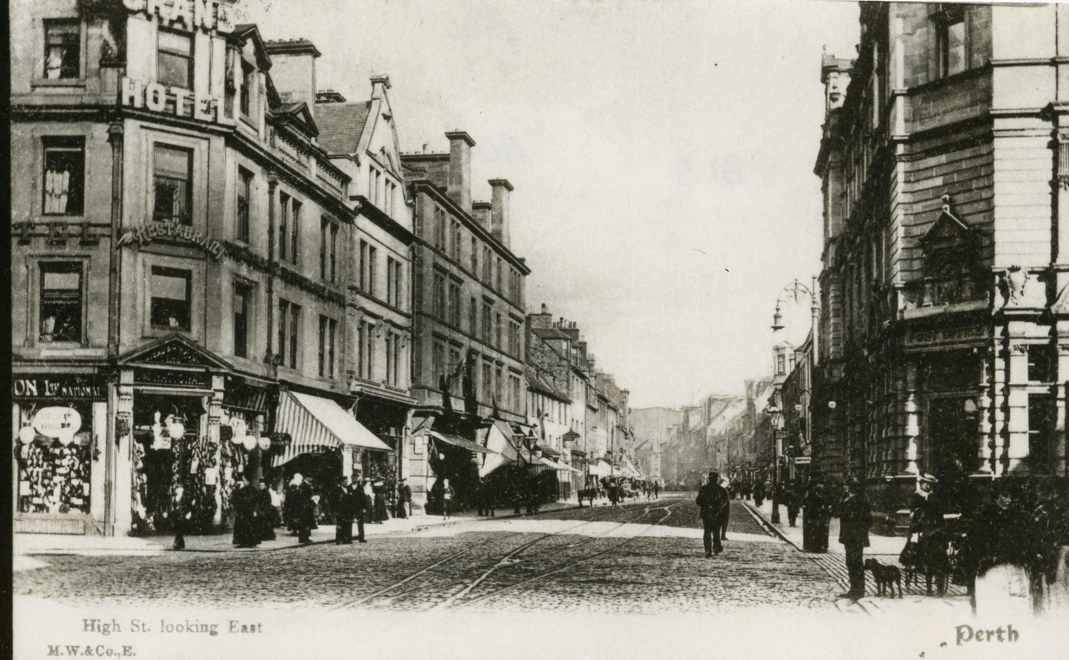 High Street Perth, 1906
