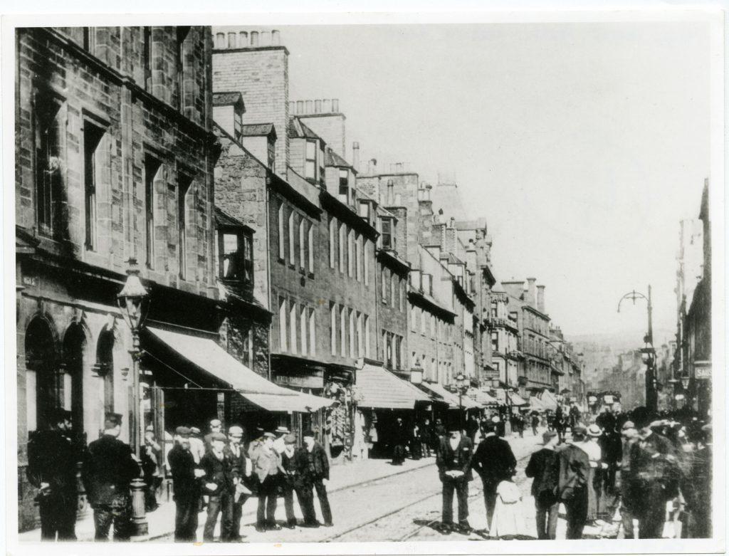 Historic image of High Street, Perth