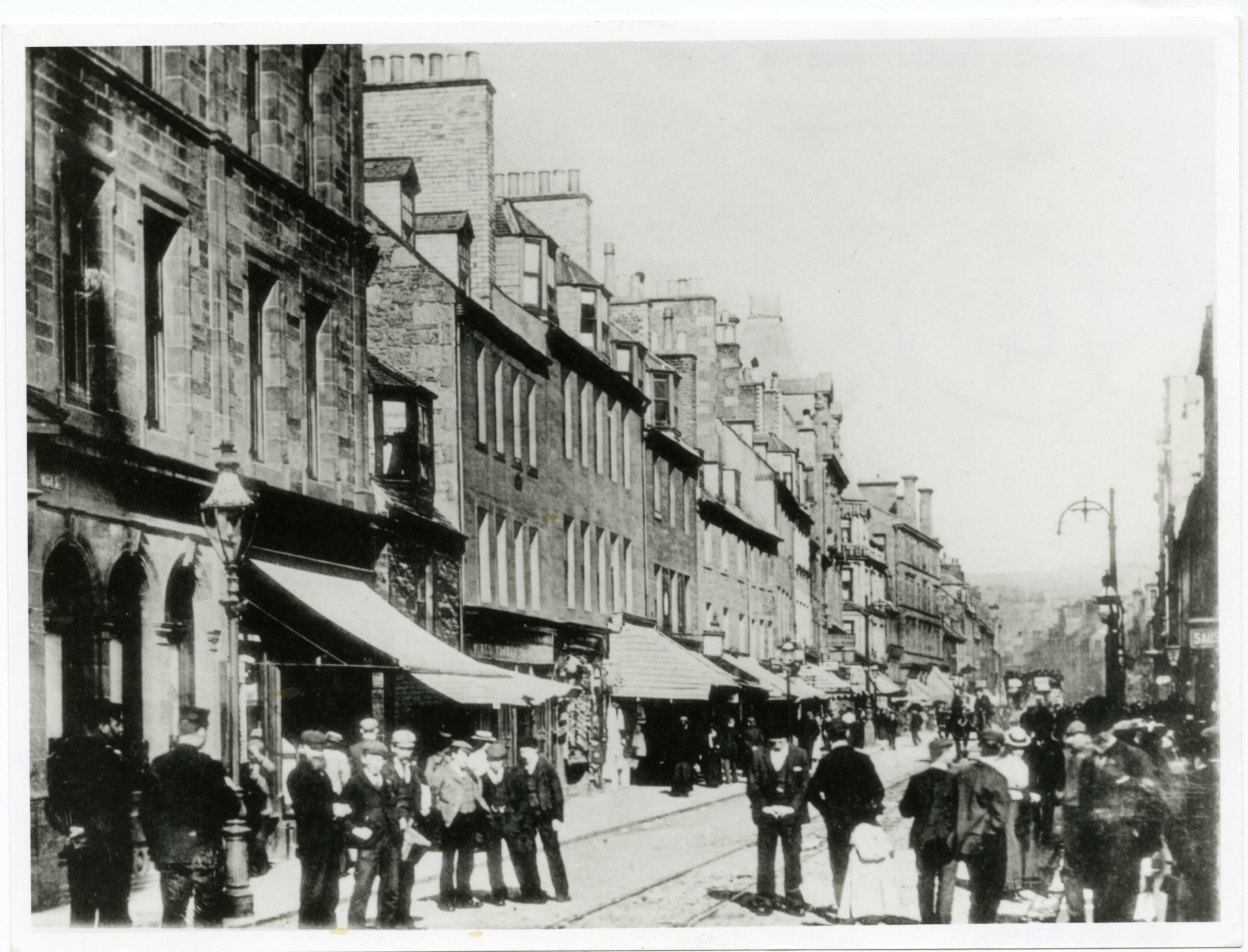 Historic image of High Street, Perth