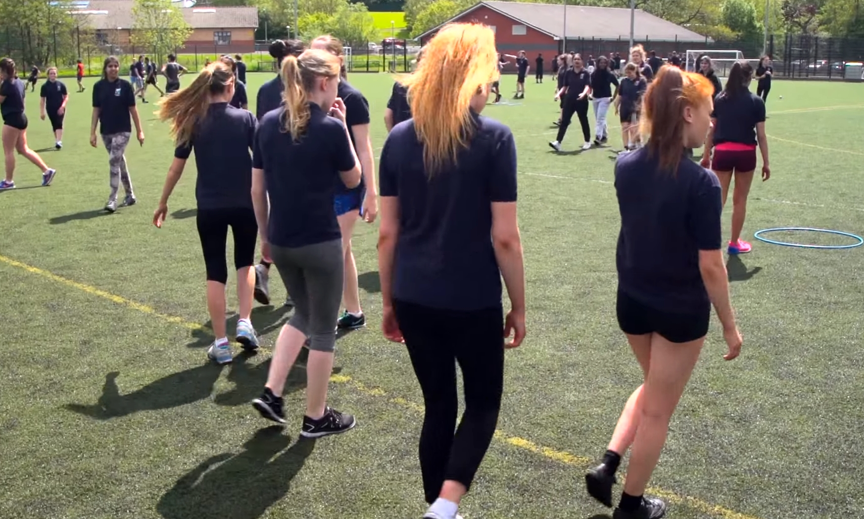 The sportscotland award celebrates those schools who make extra effort to promote healthy exercise.