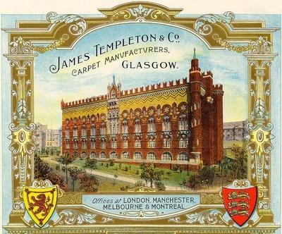 Leiper also designed Glasgow's famous Templeton carpet factory