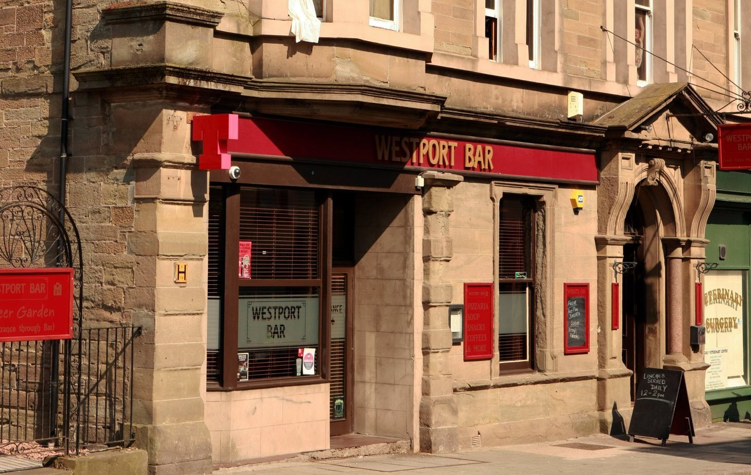 The Westport Bar in Arbroath.
