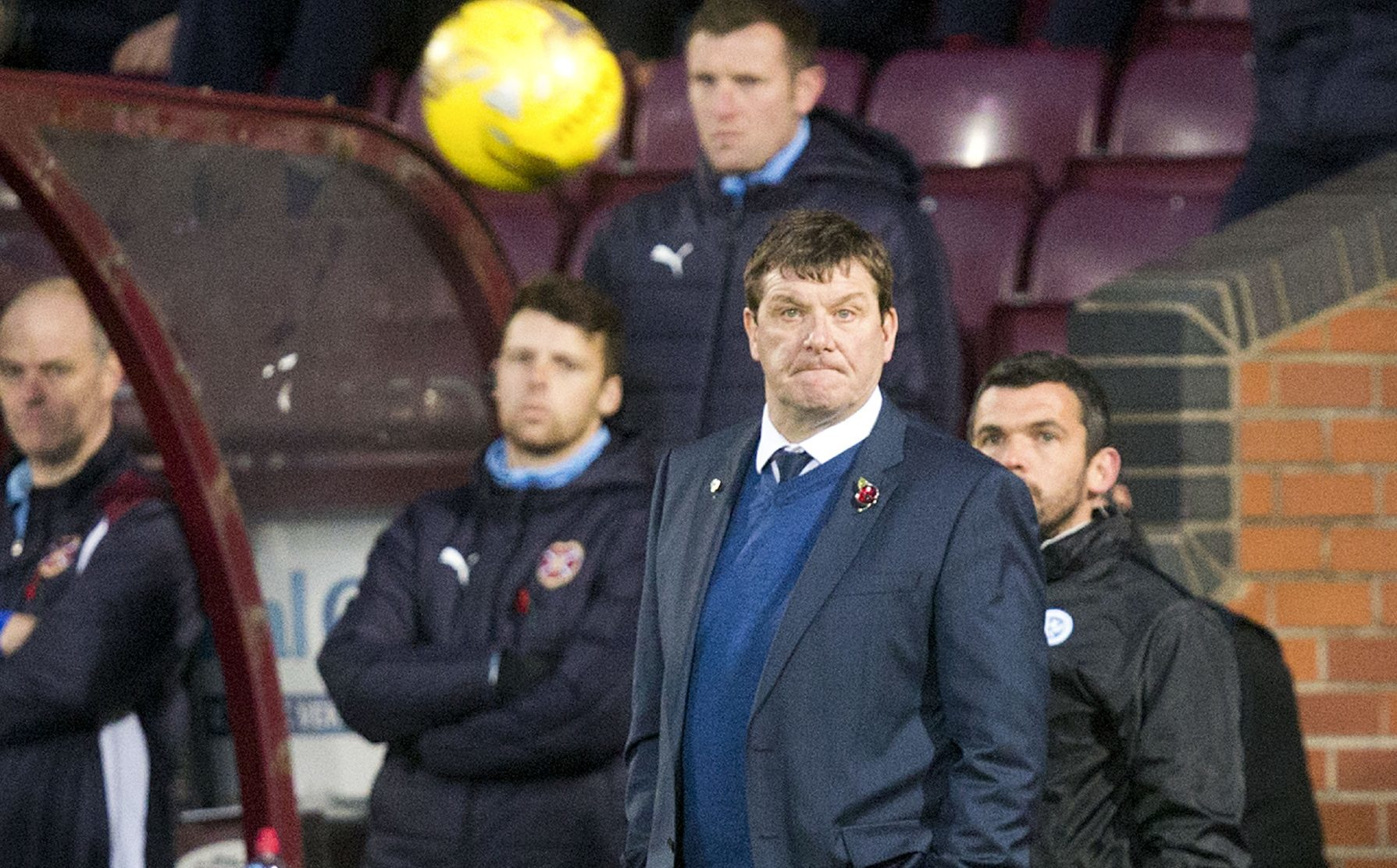 Saints boss Tommy Wright.