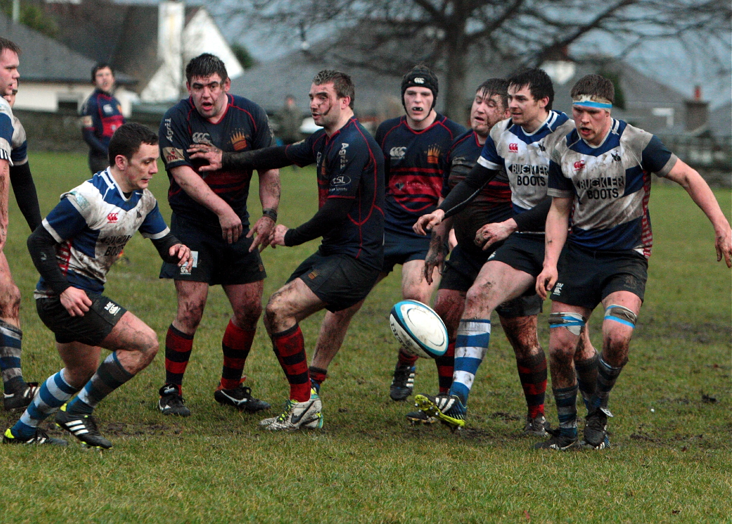 Dundee HSFP and Howe of Fife battled for league points and the Rankin Bowl at Mayfield.