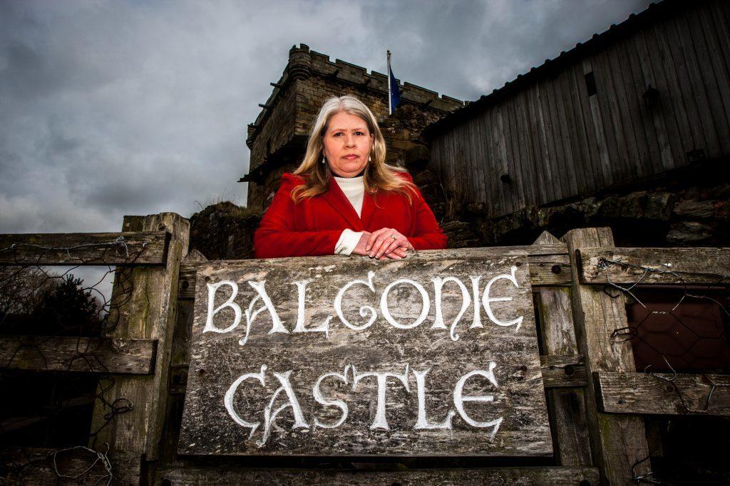 Kelly Morris of Balgonie Castle.