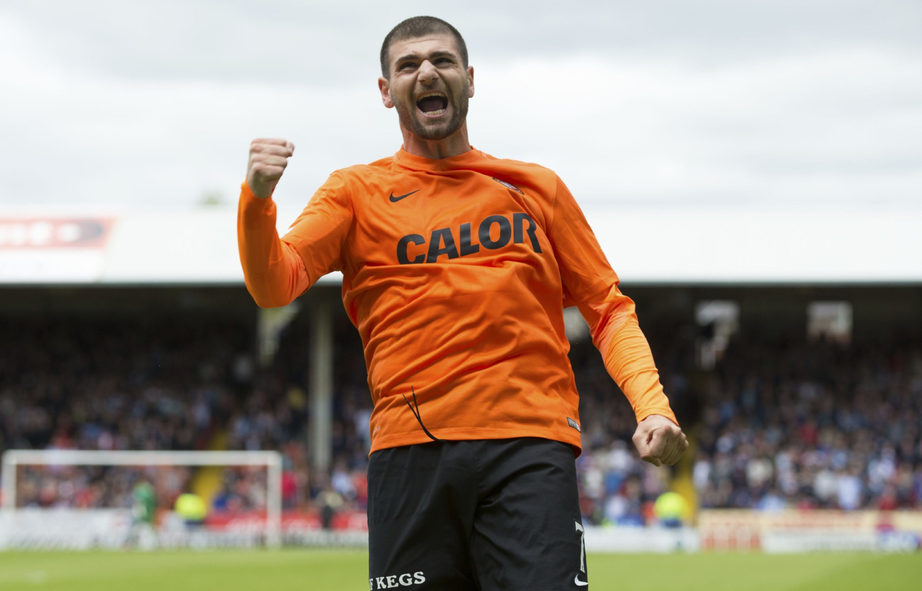 Nadir Ciftci was a key player for Dundee United.