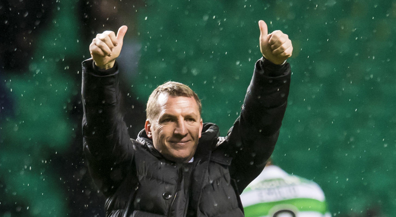 Celtic boss Brendan Rodgers,