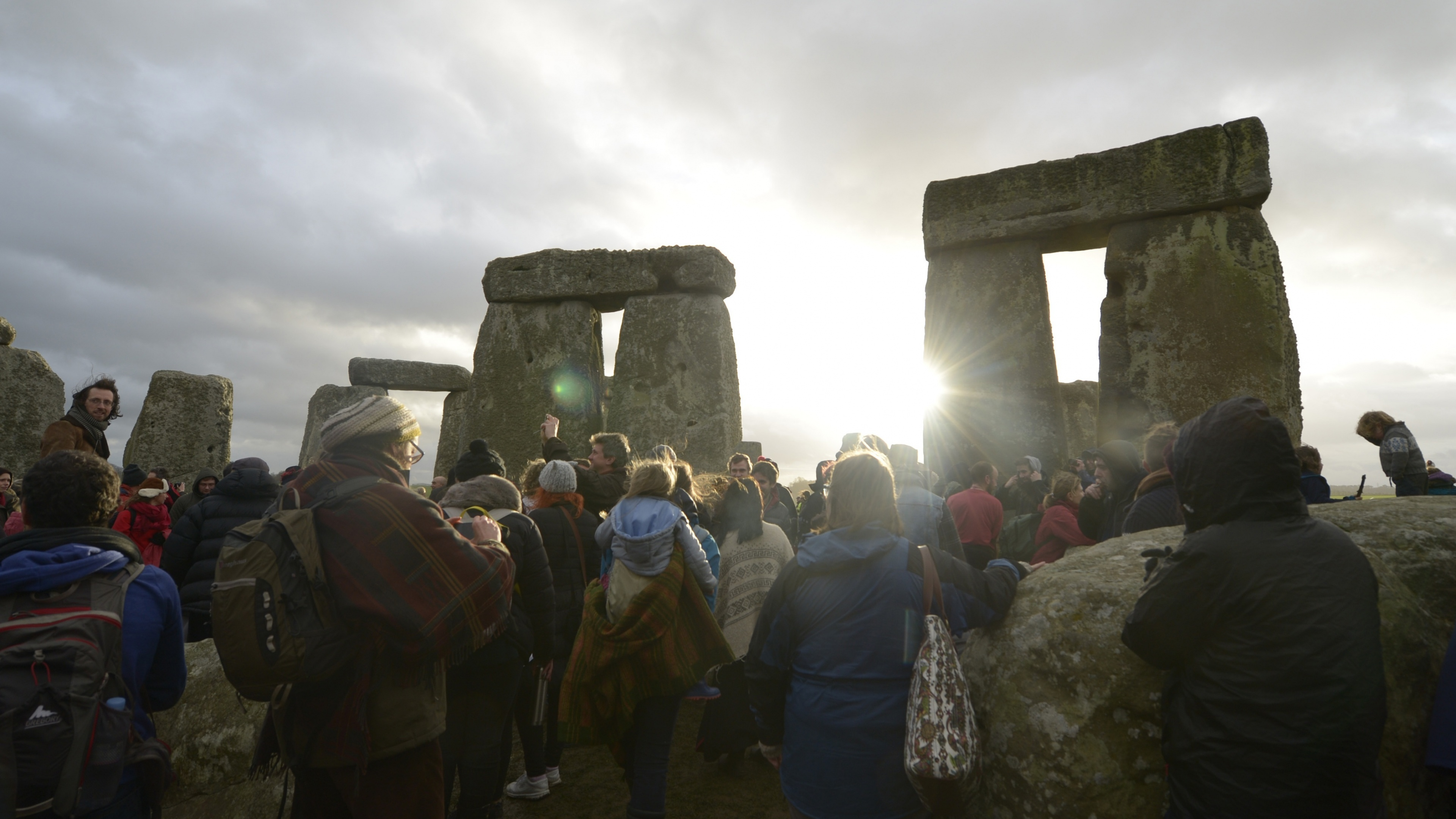 Solstice derives from a Latin word which means 'a sun standing still'.