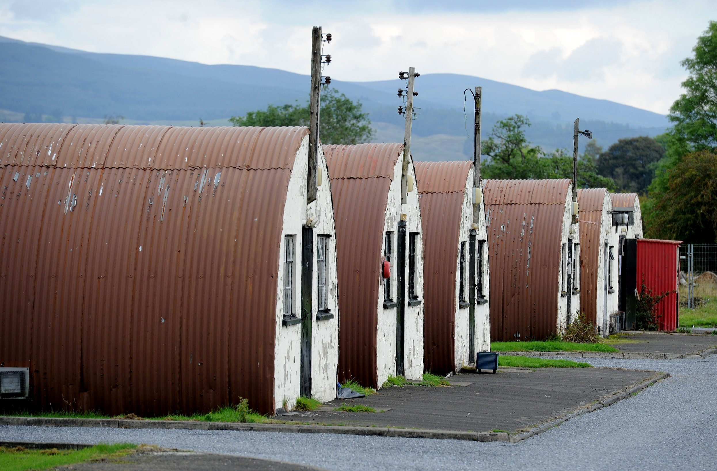 Cultybraggan Camp, Comrie, has become a hugely popular visitor attraction.