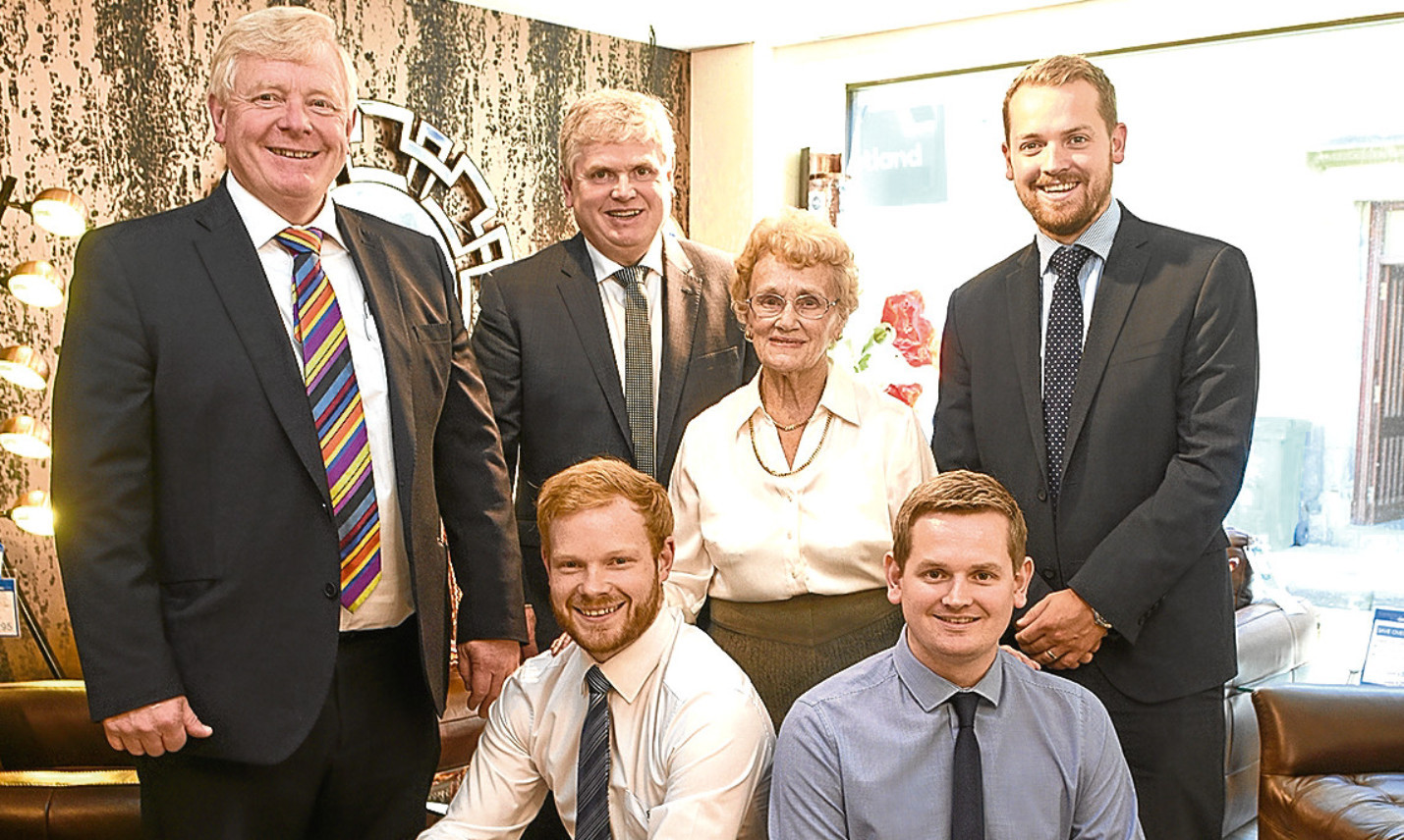 The Philp family who run furniture retailer Gillies