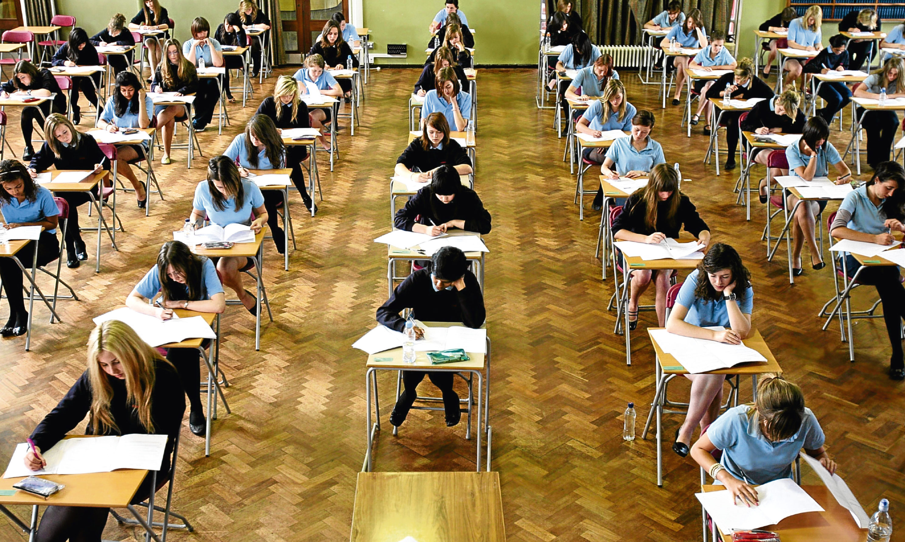 Youngsters have been finding out their exam results.