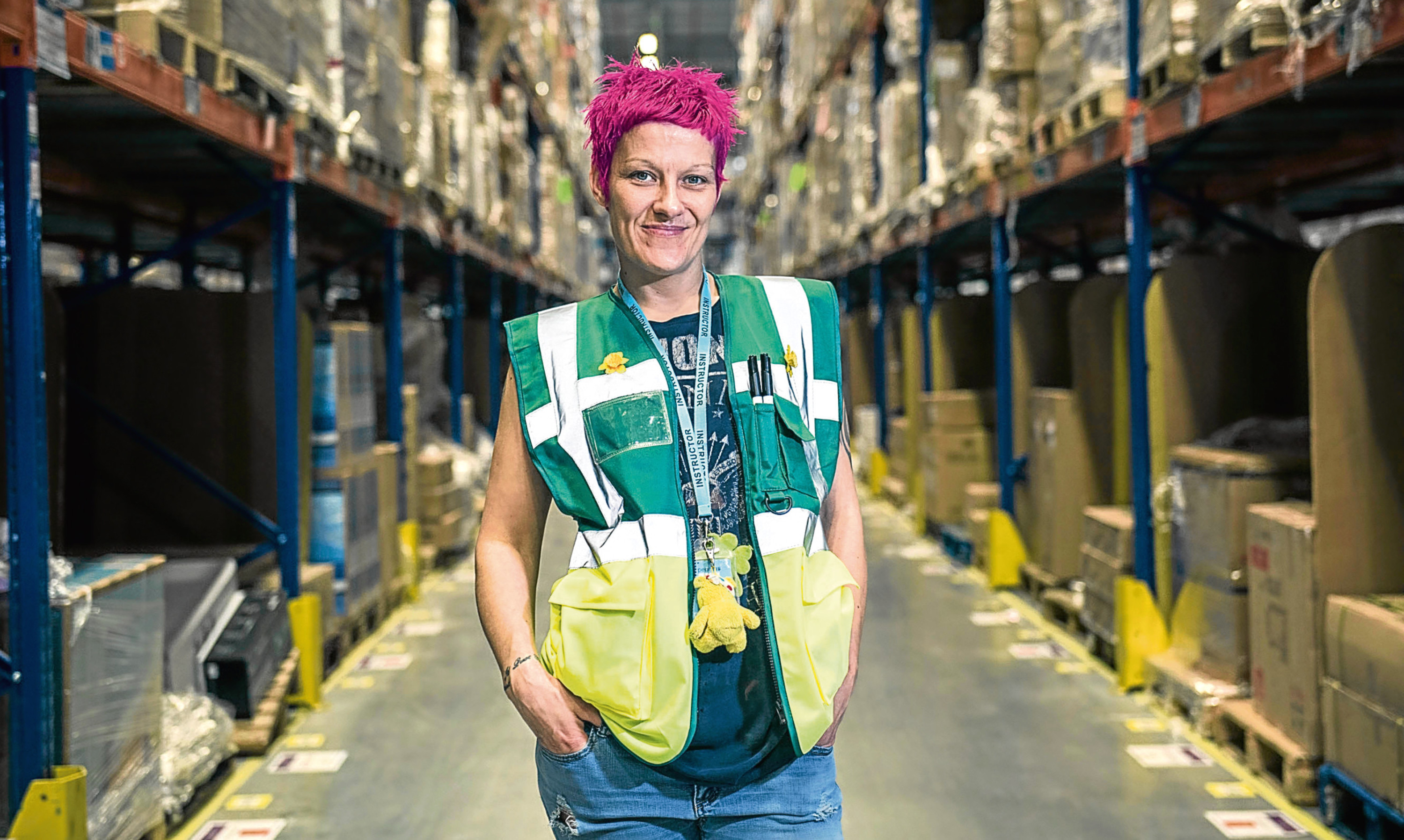 Shirley Penman  joined Amazon as a seasonal worker and has made a successful career  for herself.